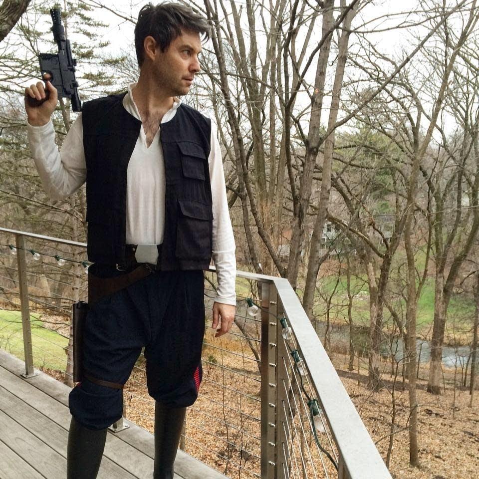 Jake Rudh channels Han Solo