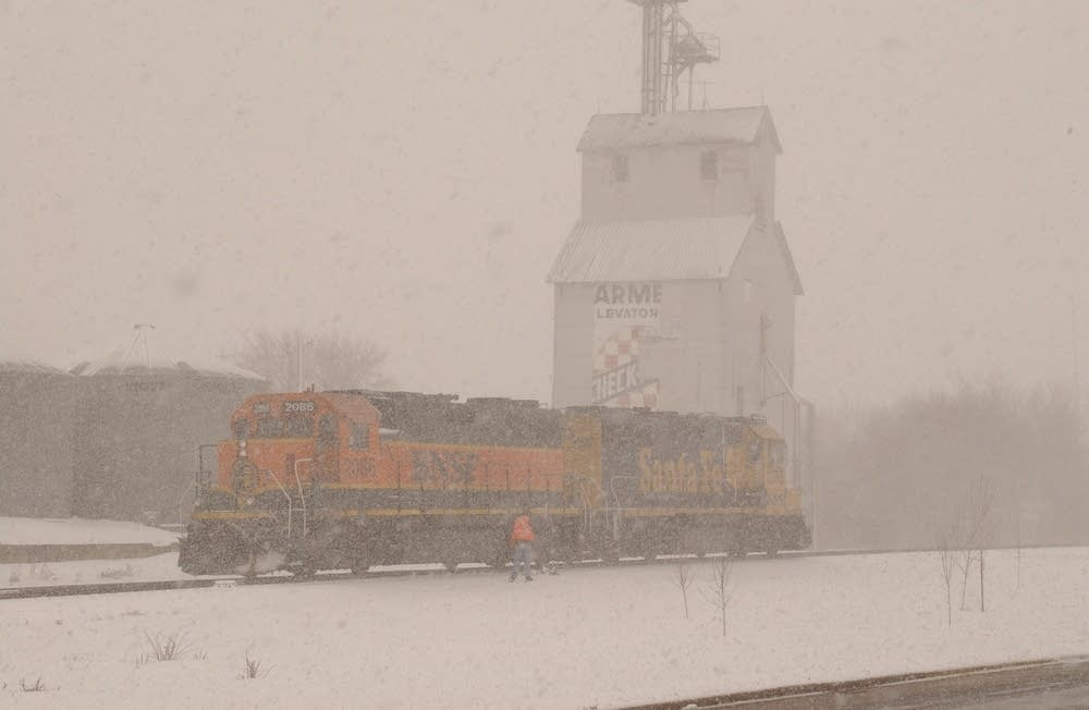 Grove City rail yard