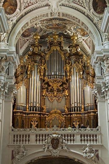 1981 Eisenbarth great organ at Passau Cathedral, Germany