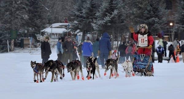 The Gunflint Mail Run Sled Dog Race