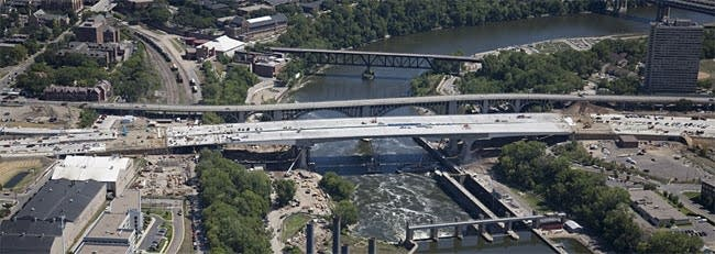 The new 35W bridge