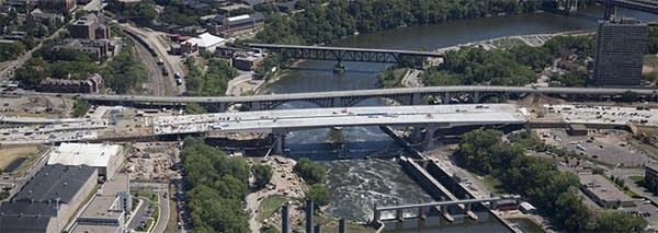 The new 35W bridge