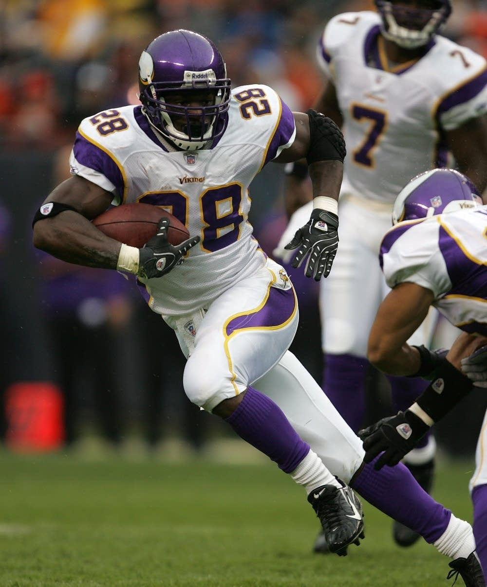 Vikings RB Adrian Peterson