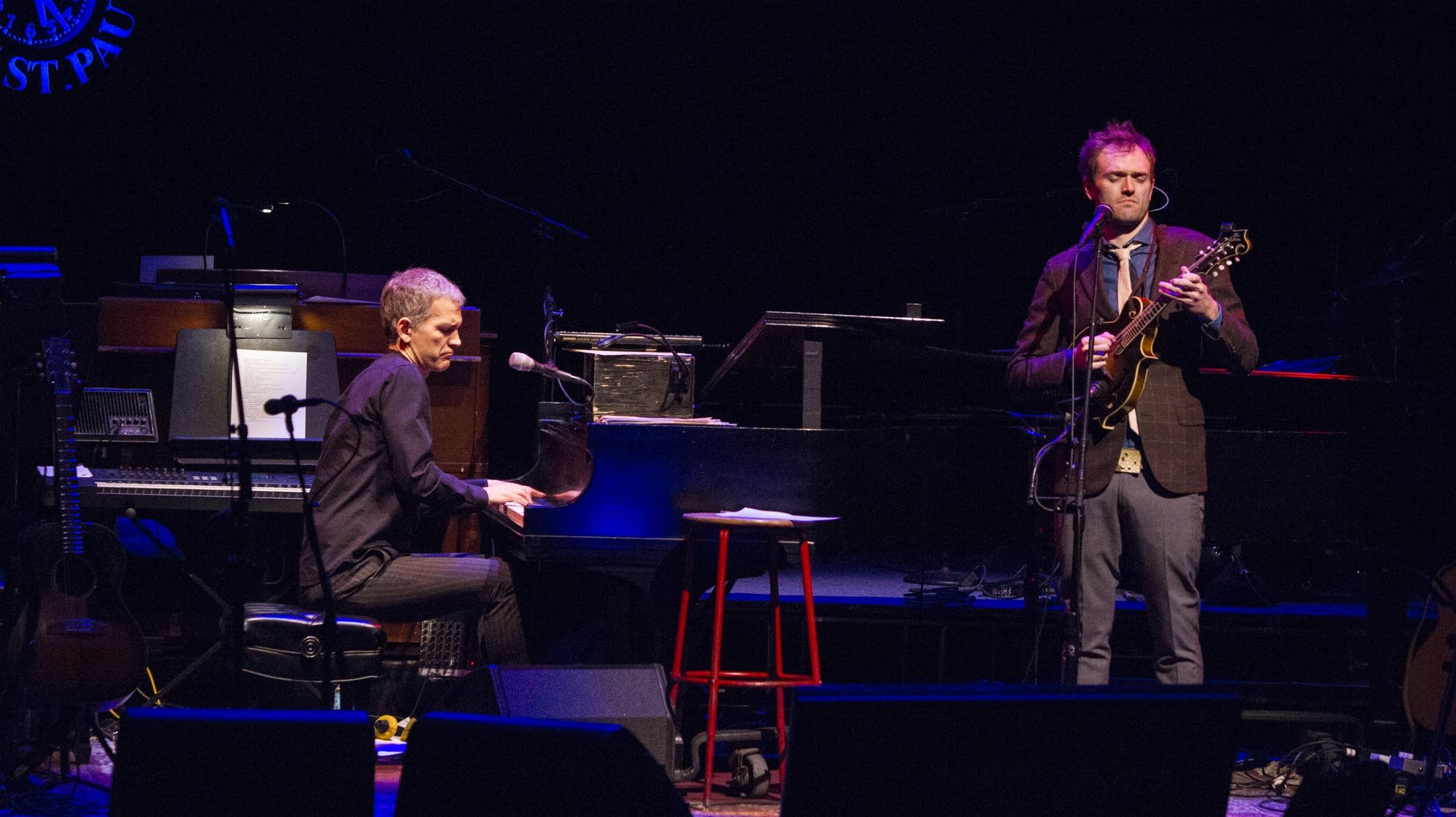 "Chris Thile and Brad Mehldau play ""The Watcher"" from their new album."