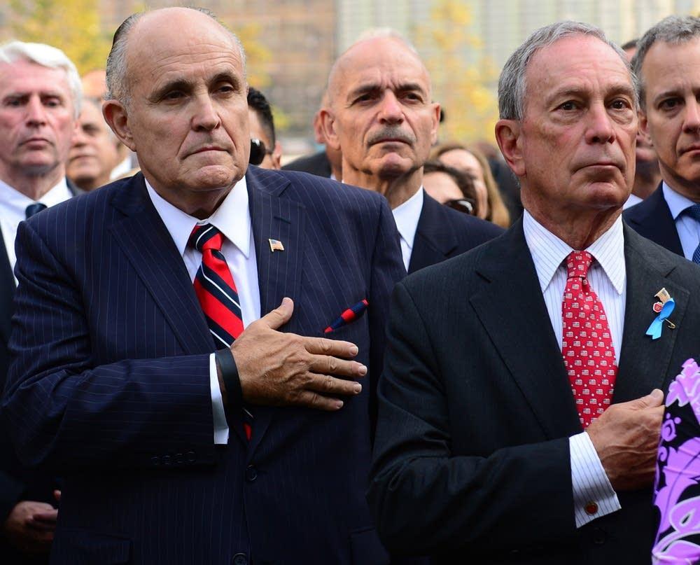 Giuliani, Bloomberg