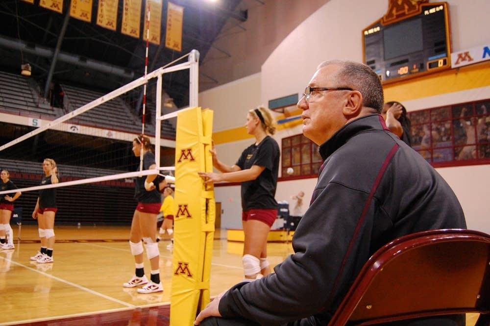 Coach Mike Hebert
