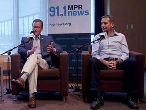 Mike Mulcahy, Jeff Johnson and Tim Pawlenty