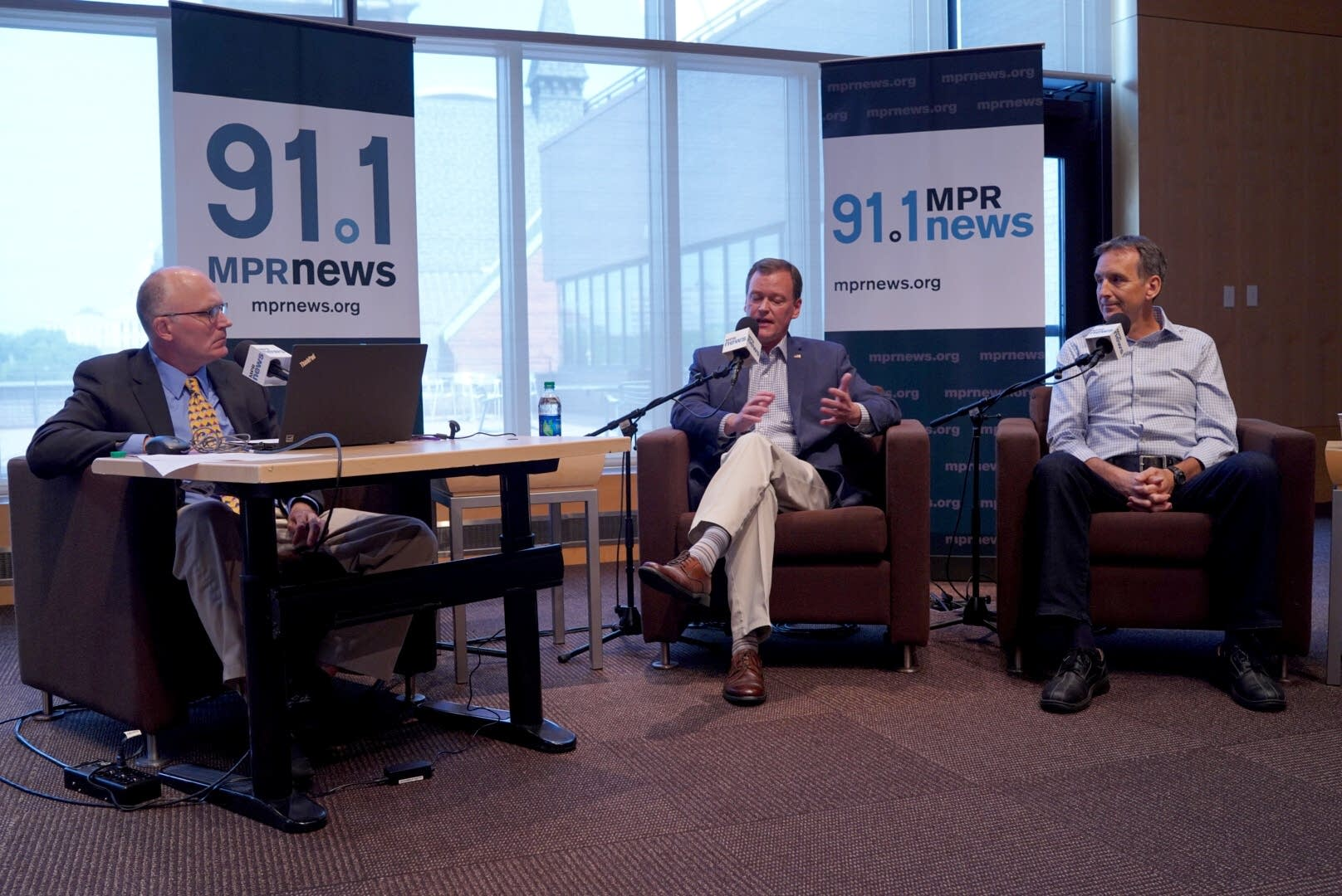 Mike Mulcahy, Jeff Johnson and Tim Pawlenty