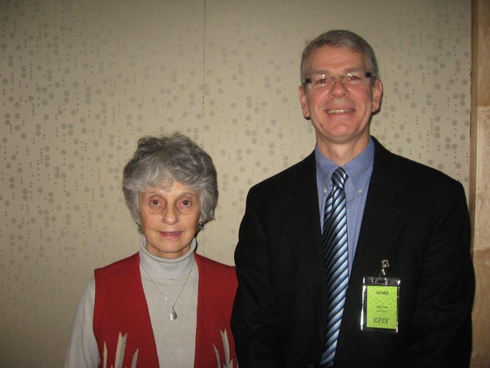 Bruce Kramer and Mary Shamrock