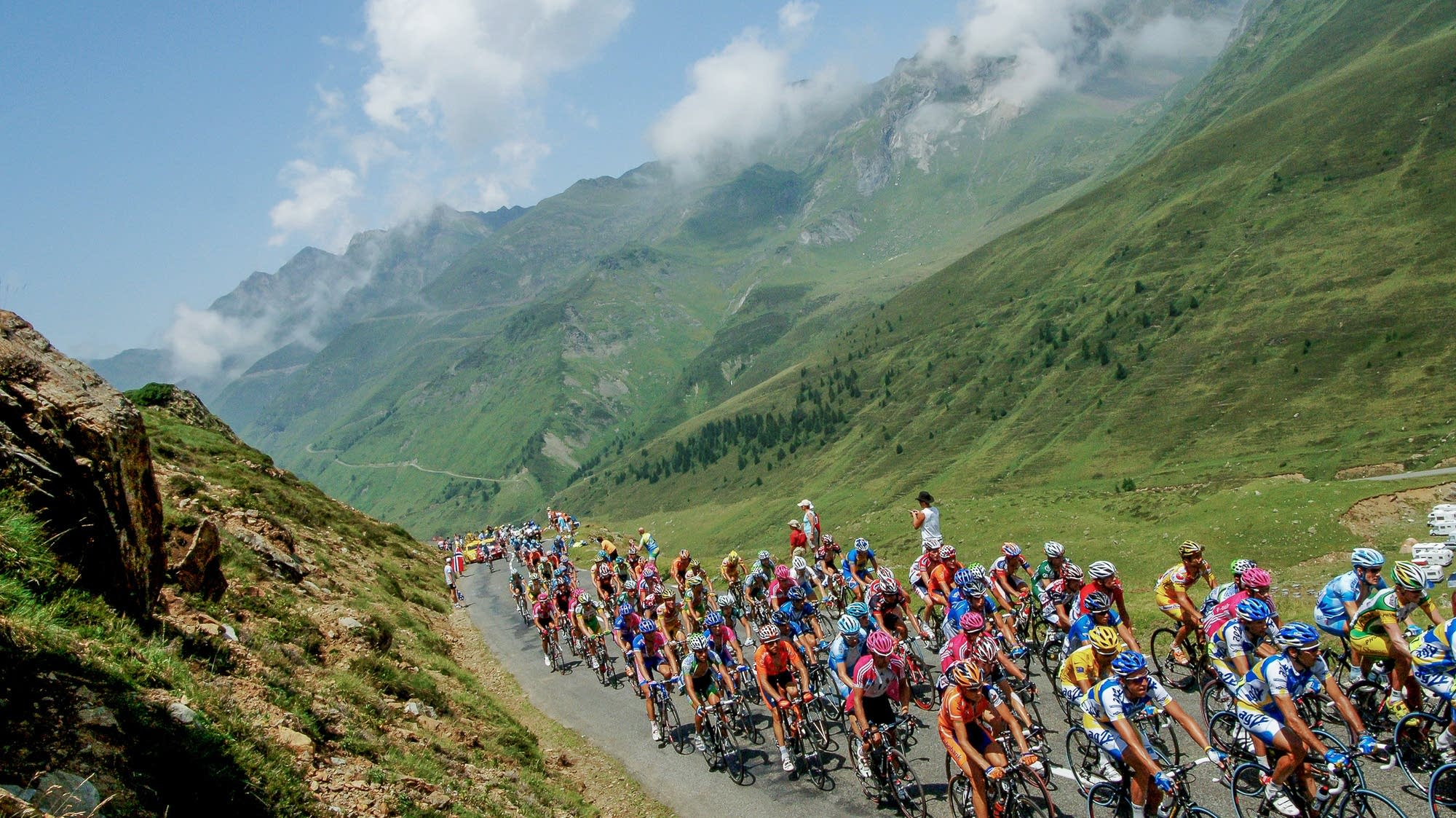 Photos In Chasing Tour De France A Photographer Finds Her Voice Mpr News