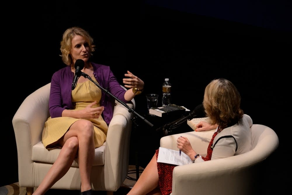 Elizabeth Gilbert talks with MPR's Kerri Miller
