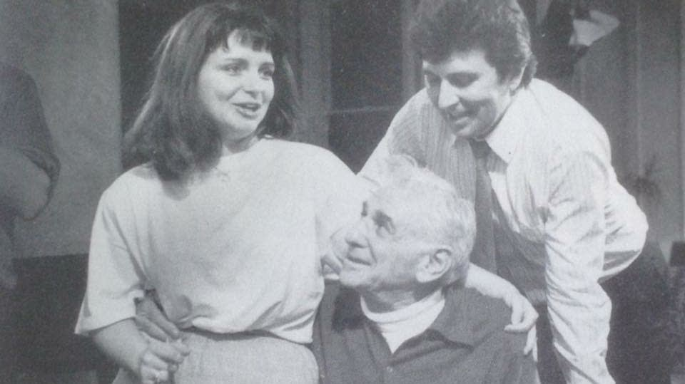 Angelina Reaux, Jerry Hadley and Leonard Bernstein