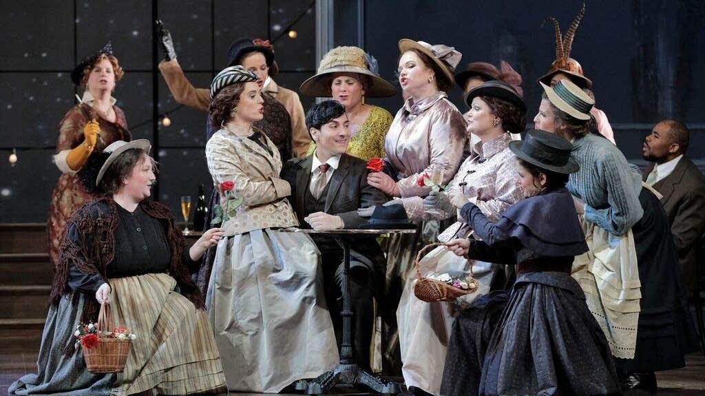 Minnesota Opera rehearses 'La Rondine'