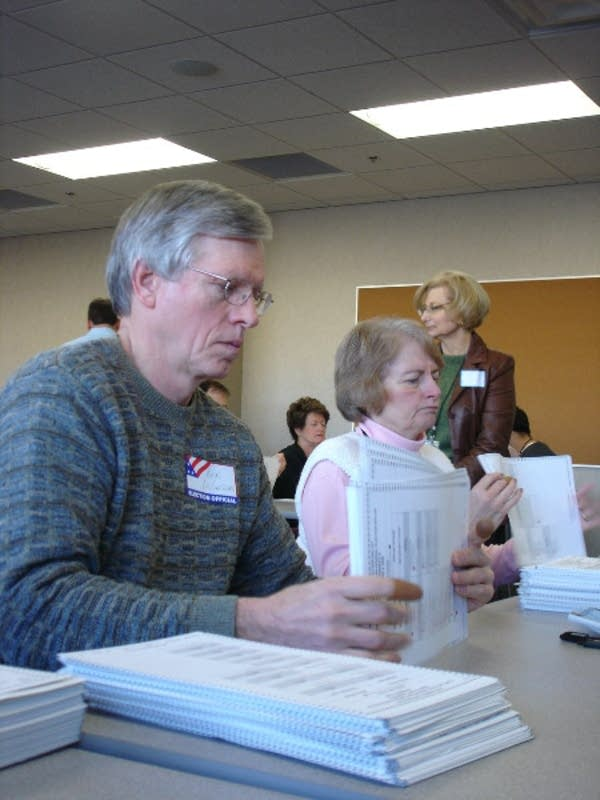 Elections judges in Ramsey County