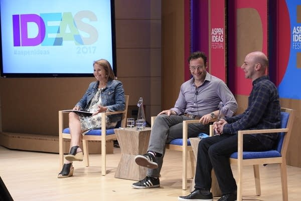 Katie Couric, Simon Sinek, and Adam Grant discuss millennials in Aspen, CO.