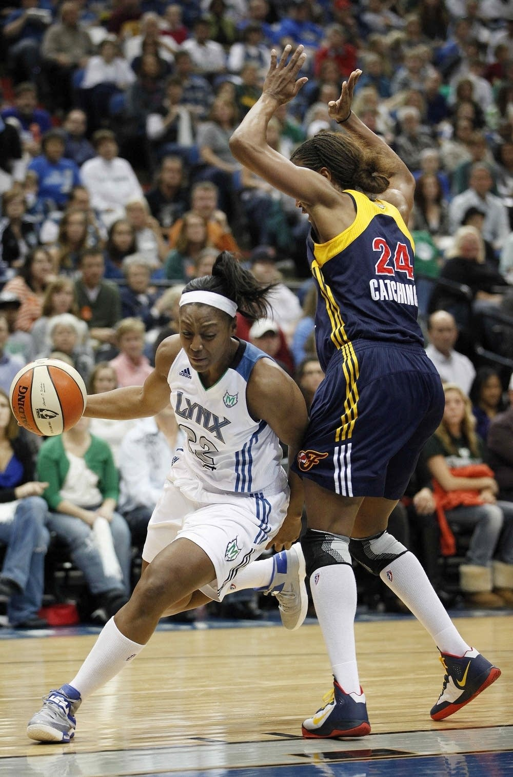Monica Wright, Tamika Catchings