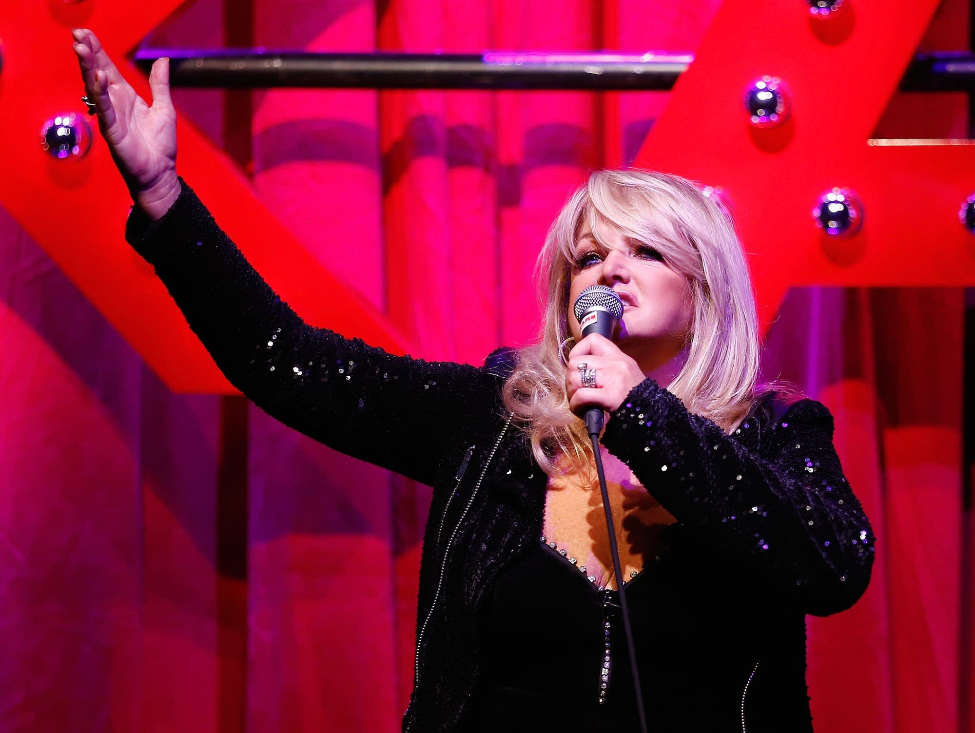 Bonnie Tyler performs in Germany in 2014.