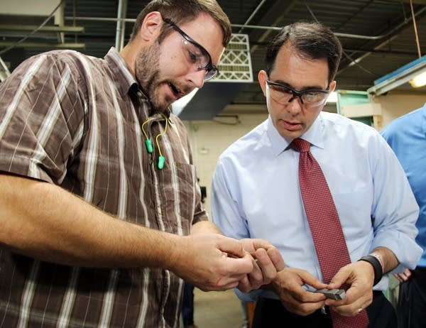 Nathan Gunderson talked to Scott Walker.