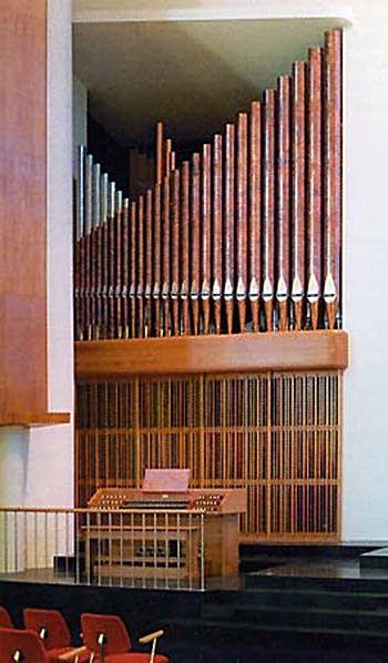 1999 Noack organ at the Neskirkja, Reykjavik, Iceland