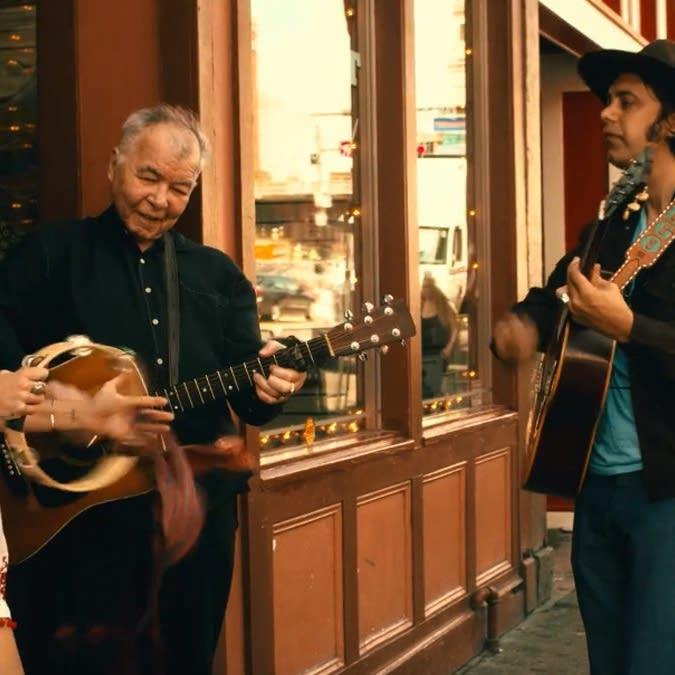 still image from John Prine's new music video