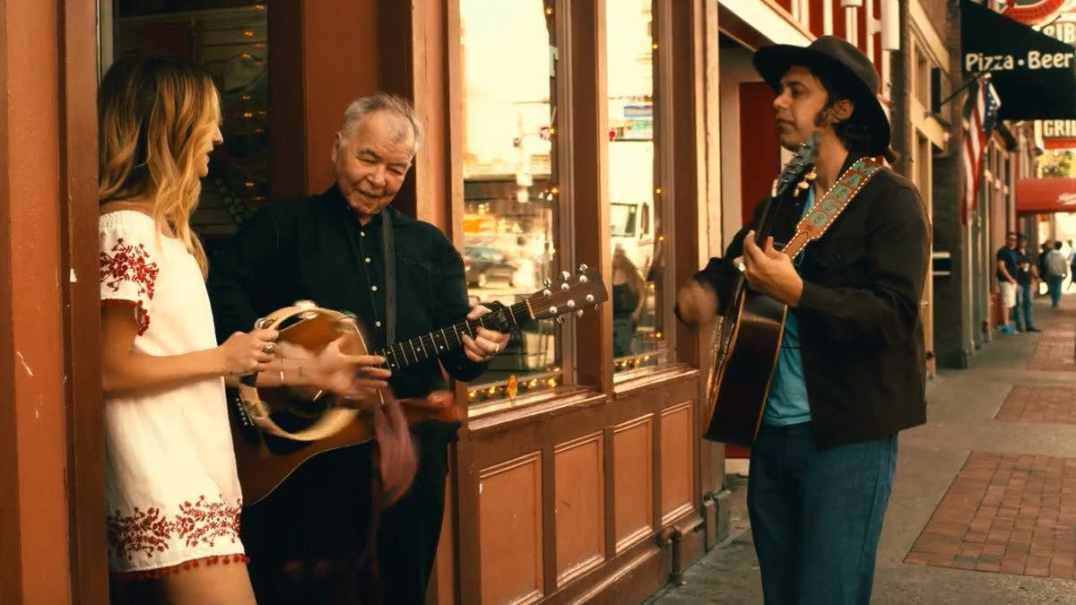 still image from John Prine's new music video