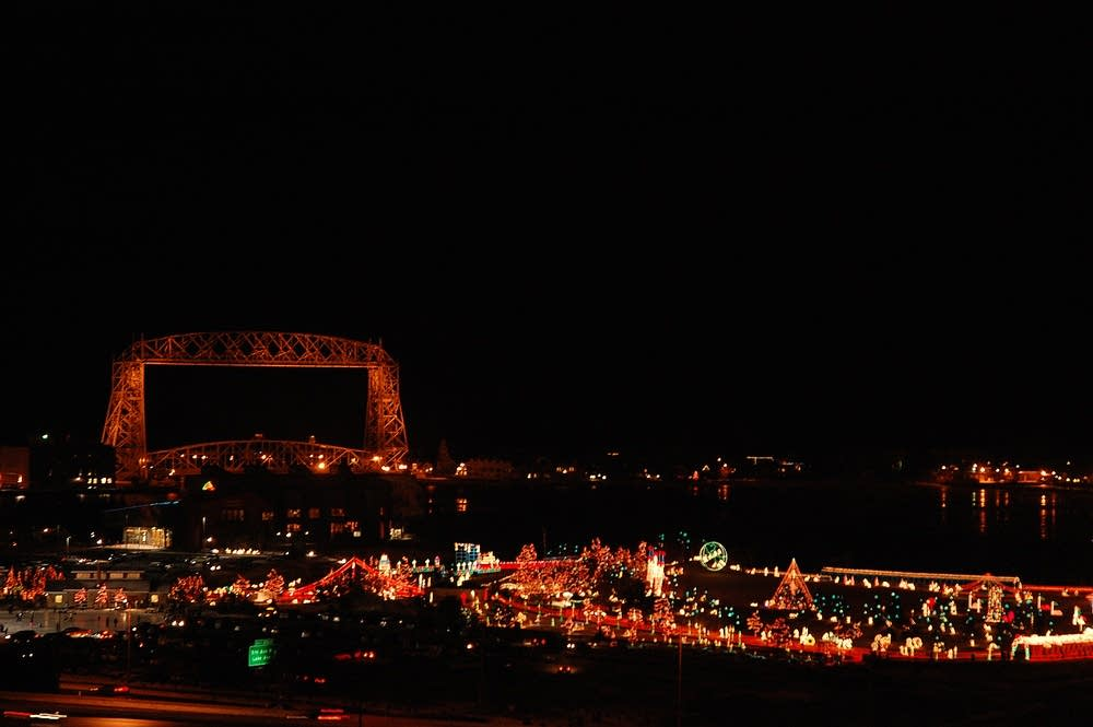 Bentleyville Christmas light display