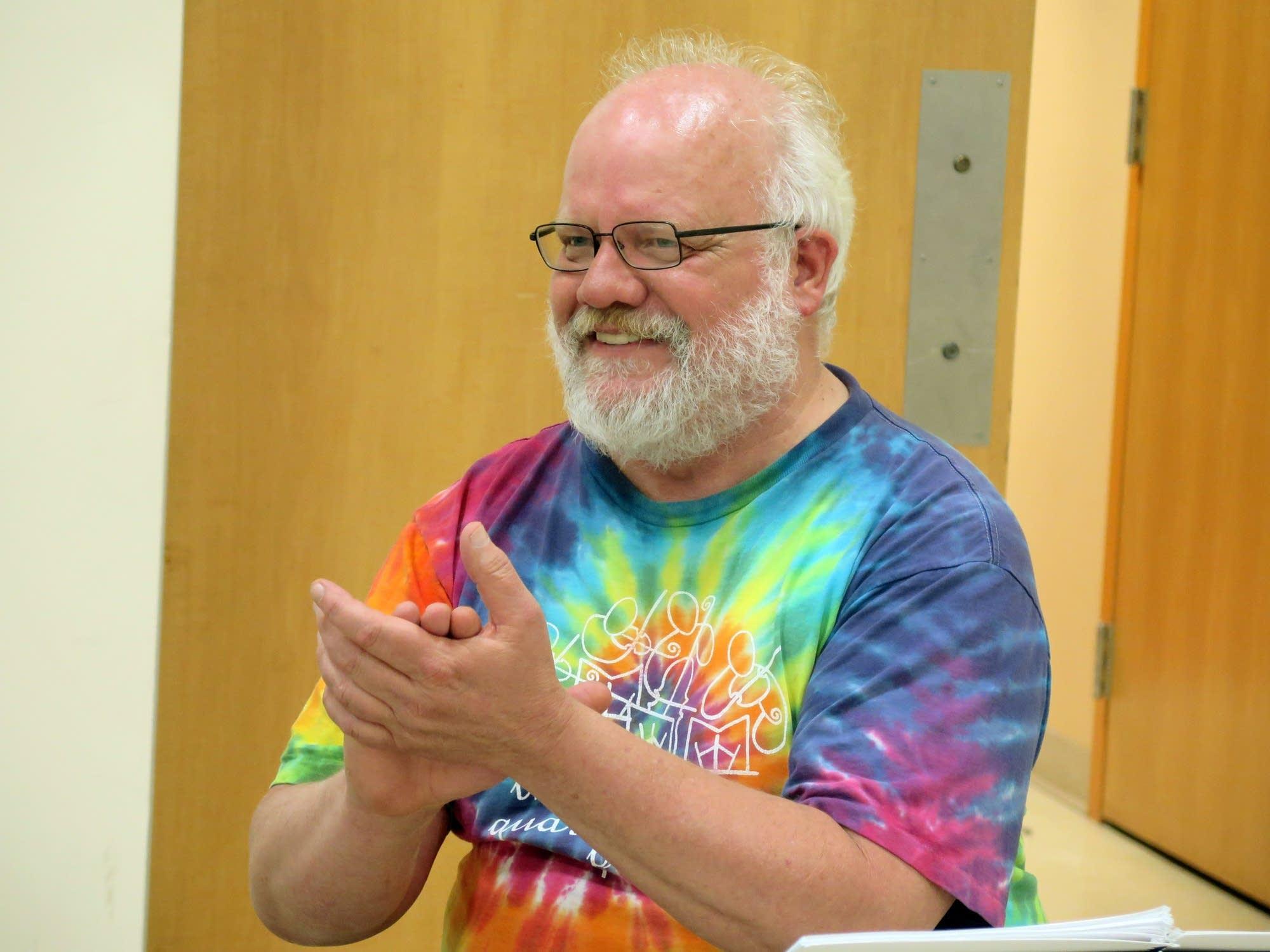 Lake Superior Chamber Orchestra director Warren Friesen