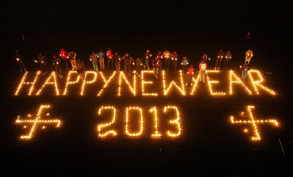 New Year's Eve in India