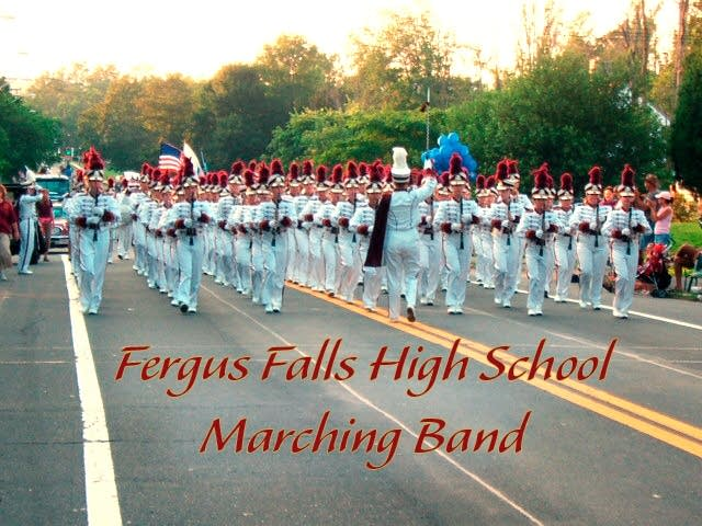 Fergus Falls marching band