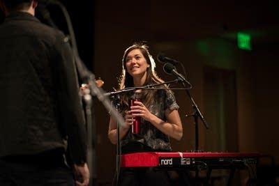 7b8357 20140320 jeremy messersmith keyboardist sarah perbix