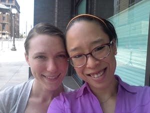 Kelly Carter and Tricia Morgan-Brist