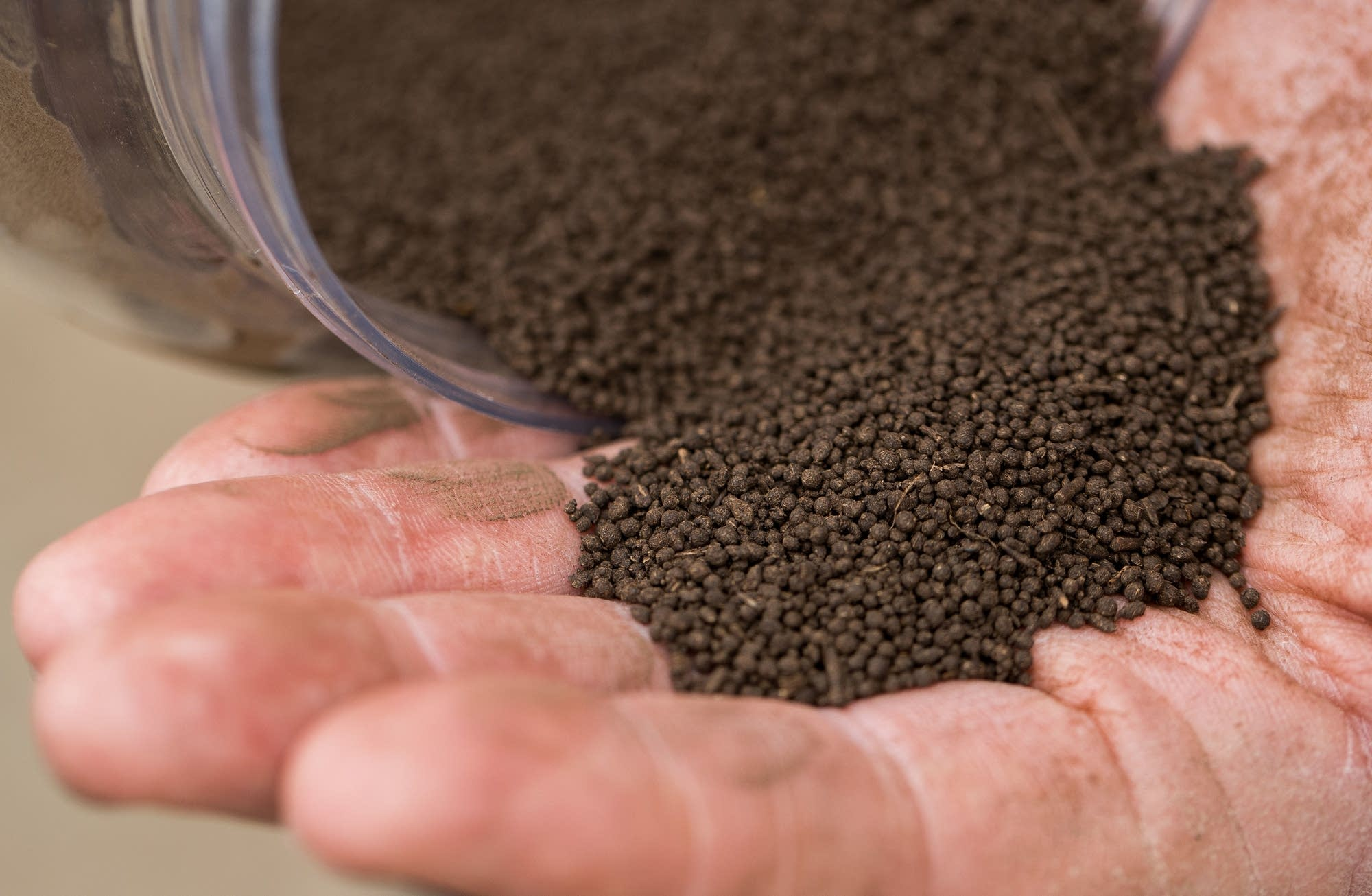 Spherical peat is a new product from American Peat Technology.