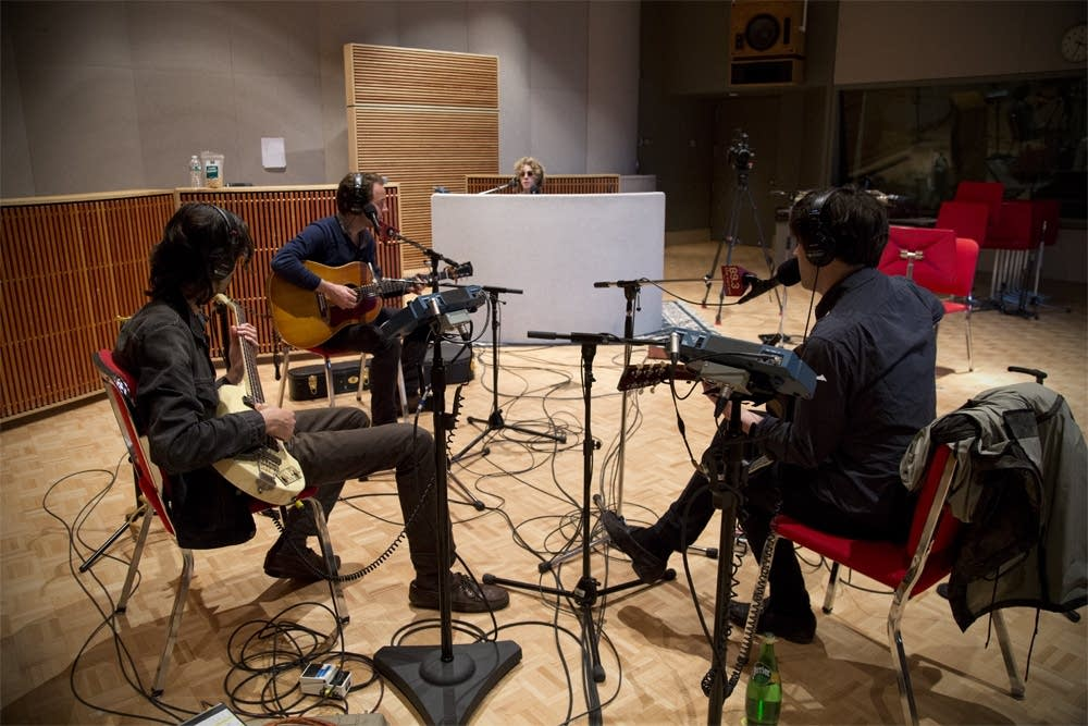 conor oberst and dawes in studio 8