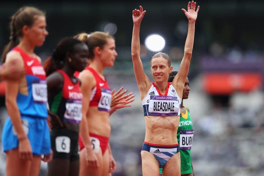 Julia Bleasdale of Great Britain