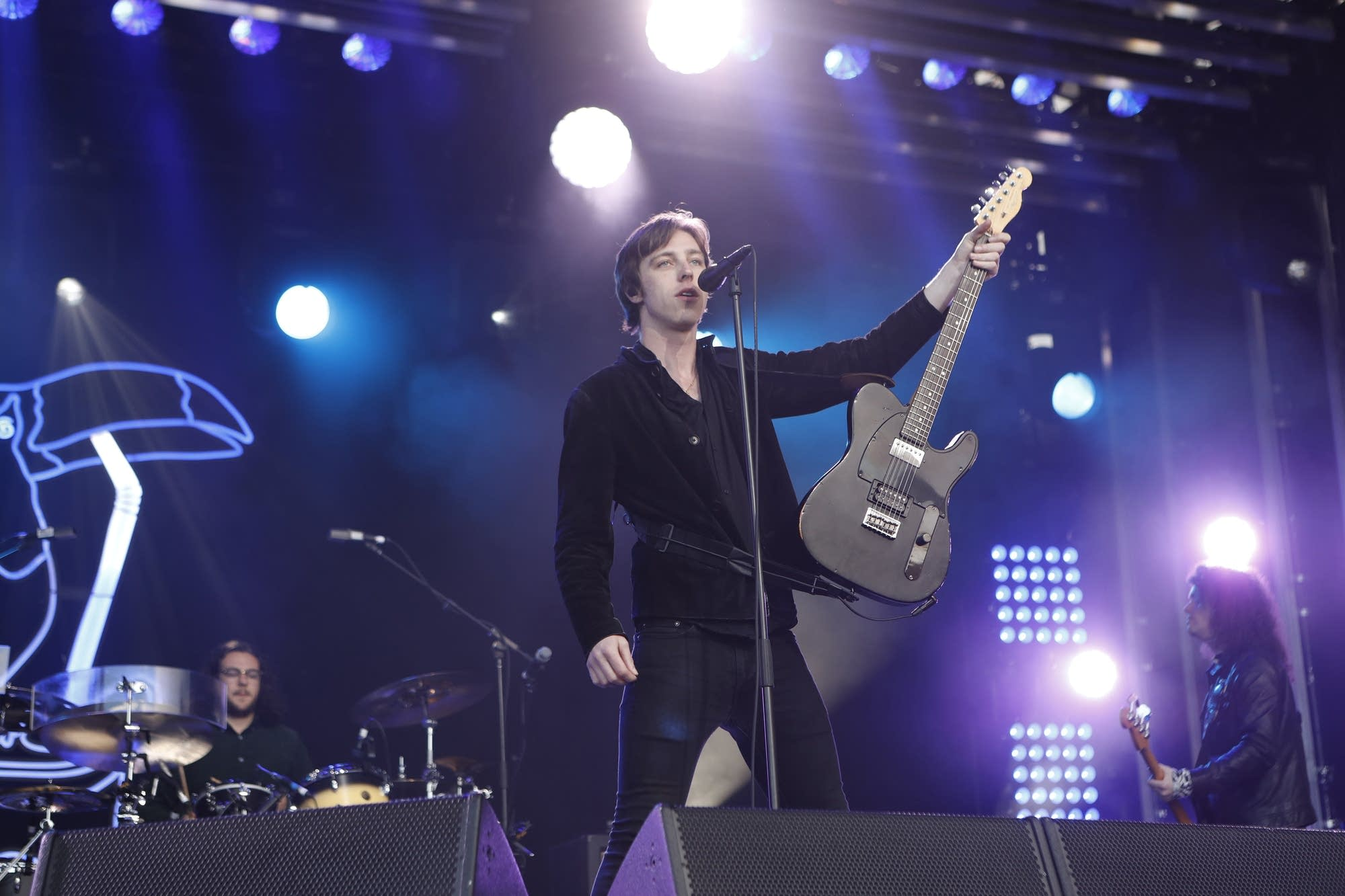 Catfish and the Bottlemen perform on 'Jimmy Kimmel Live'