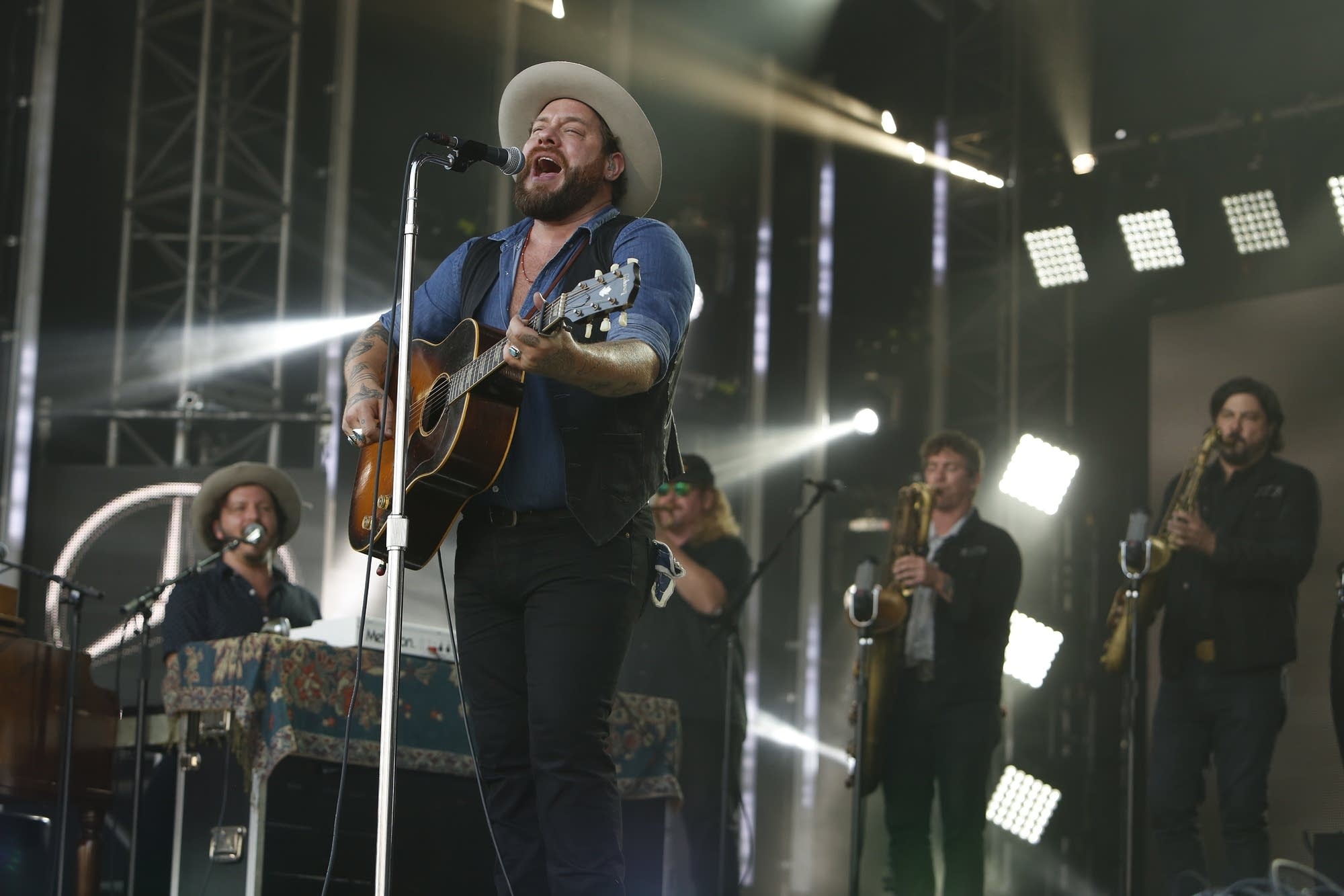Nathaniel Rateliff and the Night Sweats on 'Jimmy Kimmel Live!'