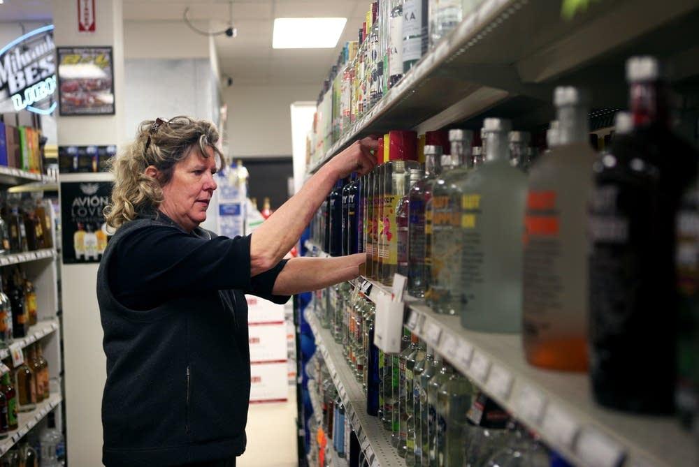 Liquor store employee