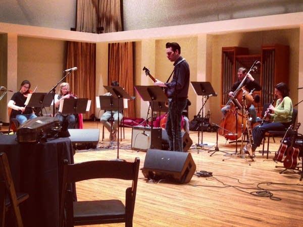 Jherek Bischoff and SPCO musicians