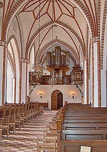1962 Marcussen & Søn organ at St. Hans Church, Odense, Denmark