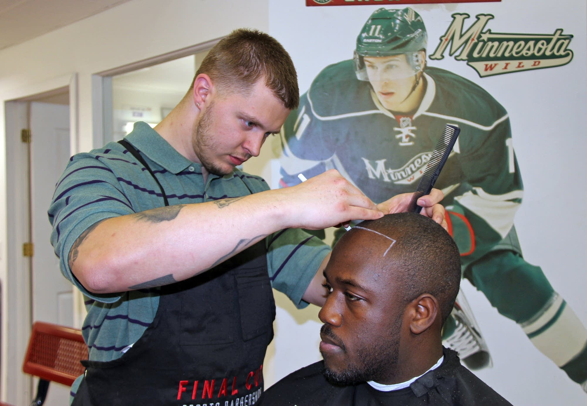 Racial Harmony In Minnesota Take A Seat At This Barbershop Mpr News
