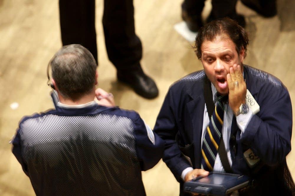Dow Plunges Below 10,000