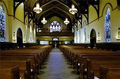 1990 Reuter organ at Saint Mary's Church, Greenville, SC