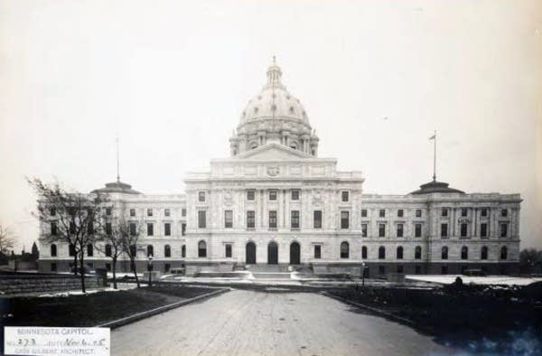 The Minnesota State Capitol, Nov. 6, 1905