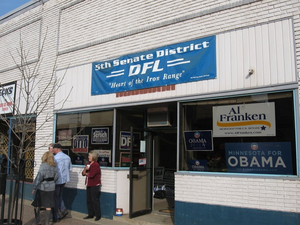 DFL headquarters in Hibbing, Minn.