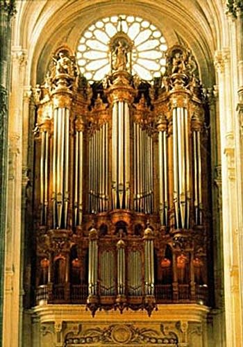 1989 van den Heuvel at the Church of Saint Eustache, Paris, France