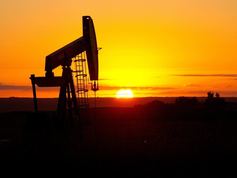 Oil fields in North Dakota