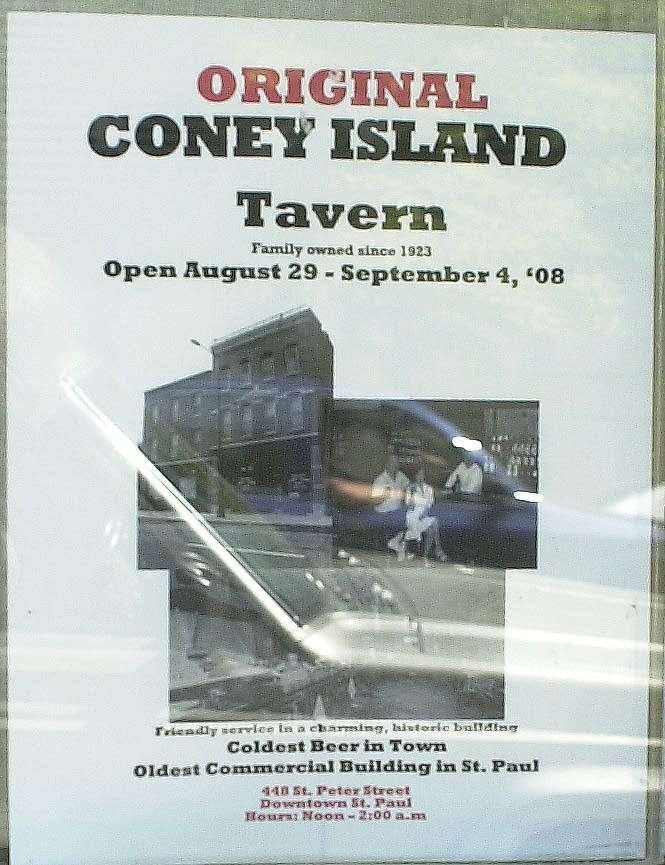 Coney Island flier