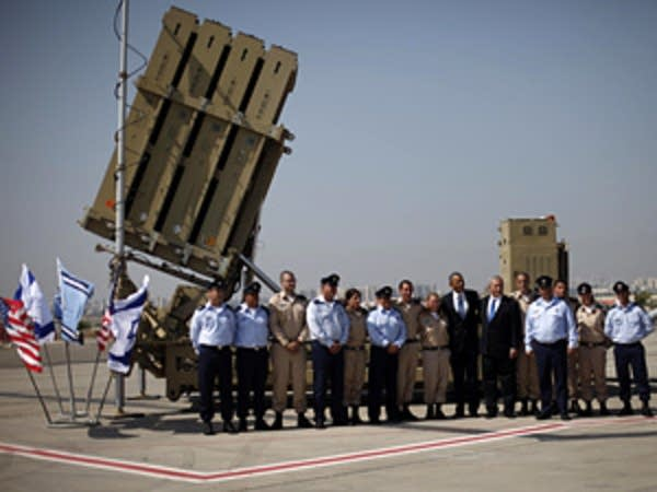 Iron Dome tour