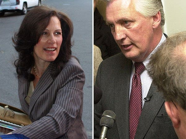 Michele Bachmann and challenger El Tinklenberg