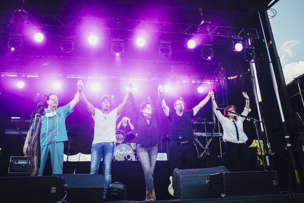 The Revolution at Rock the Garden 2017